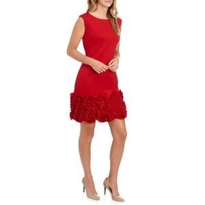 Stunning Cupcake Hem Sheath  Dress